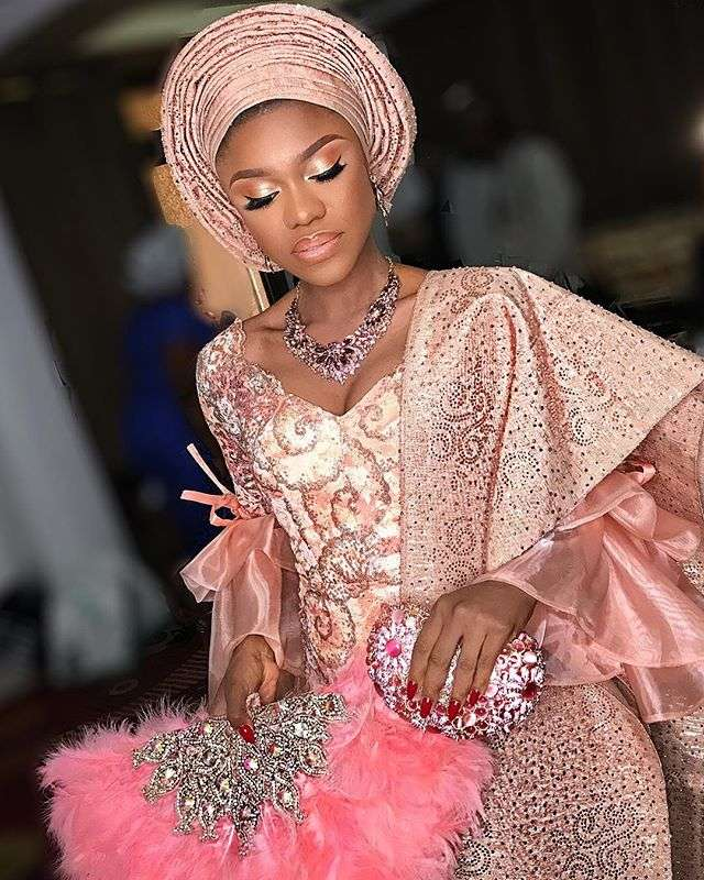 Check Out All The Dresses Becca Wore At Her Traditional
