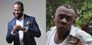 Adjetey Annan praise Kumawood after shooting movie with Akrobeto