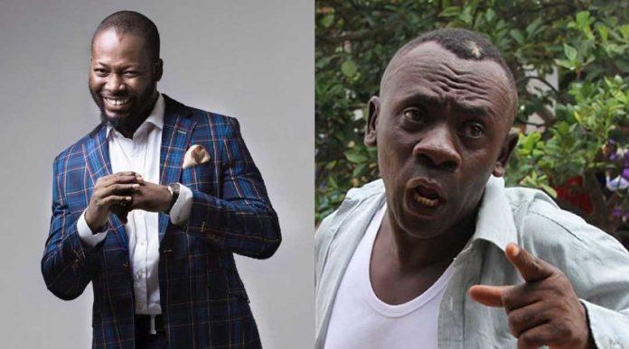 Adjetey Annan praise Kumawood after shooting movie with Akrobeto