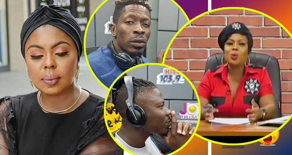 Image result for Afia Schwar settles Stonebwoy and Shatta Wale's long-standing feud