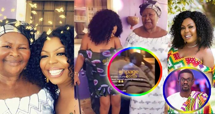 Watch Afia Schwar's mum weeping after investing ¢4.3 M with Menzgold