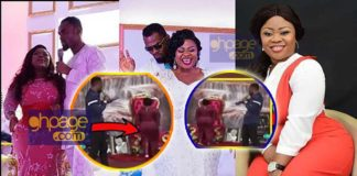 Video: Rev Obofour commands his wife to stand up and show her big buttocks in church
