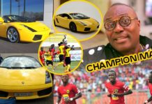 Photos of Lamborghini AshantiGold boss lost to Kotoko CEO through bet
