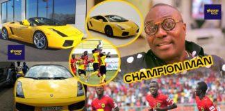Photos of Lamborghini AshantiGold boss lost to Kotoko CEO through bet