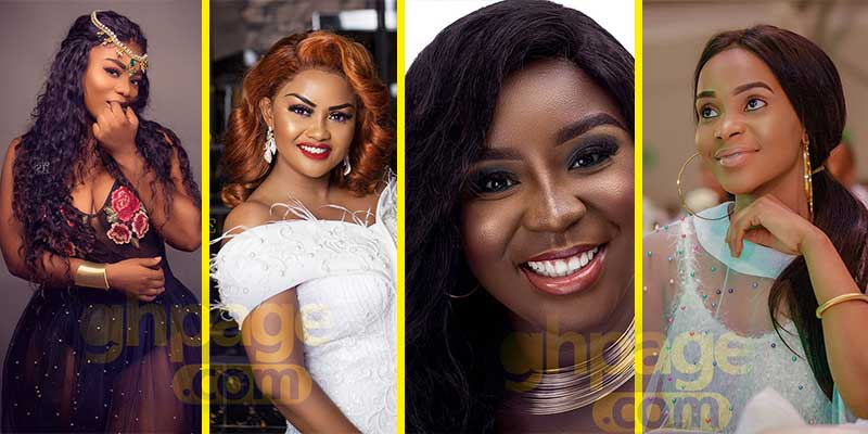 8 most beautiful actresses in the Kumawood industry today