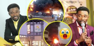 Video: Huge explosion that will kill hundreds of people to hit Accra Mall today - Eagle Prophet