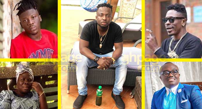 Shatta Wale-Stonebwoy's fight in London- Brother explains what transpired