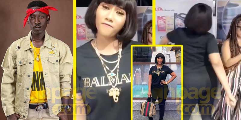 Hajia4real joins the Supa 'challenge' with her big backside