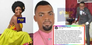 Sex dreams with Obinim & Obofuor,Dzidzor Mensah explains how it started