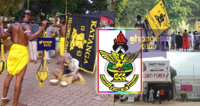 KNUST Security and students clash over