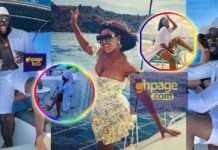 Kofi Asamoah and Salma Mumin still chilling in Greece as lovers