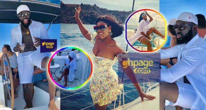 Kofi Asamoah and Salma Mumin still chilling in Greece as lovers