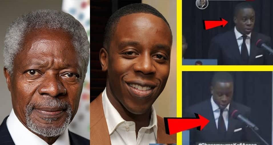 Heart-warming tribute from Kofi Annan's son, Kojo Annan