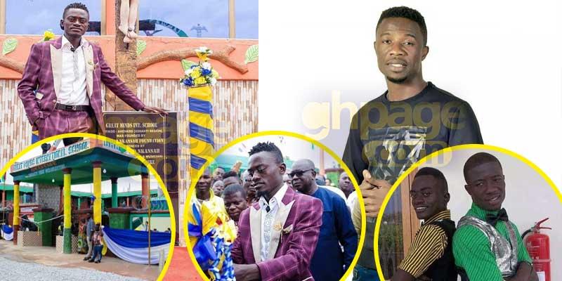 Kwaku Manu praises Liwin for building a school