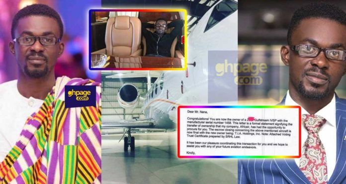 NAM1 publishes a letter to confirm he is the real owner of the Private Jet