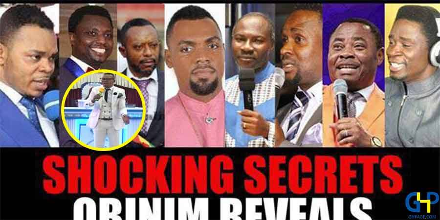 'Angel' Obinim boldly lists Good and Fake pastors live in his church
