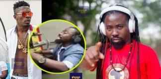 Shatta Wale just like talking by heart without thinking - Obrafour