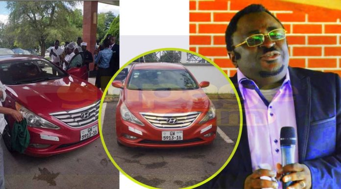 Togolese Pastor gifts a staff of Golden Tulip a car for her kindness