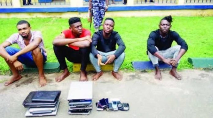 Foreigner flies down to Africa to arrest fraud boys who scammed him of €15,000