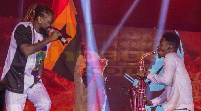 Samini shakes up Glofest with massive performance