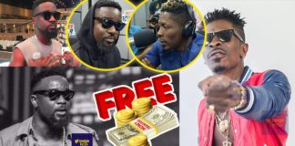 Sarkodie should forget getting anything free from me again - Shatta Wale