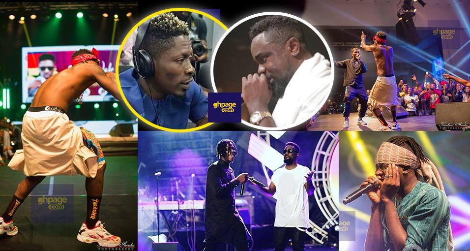 Shatta Wale puts Stonebwoy and Sark on blast after Zylofon Naija Concert
