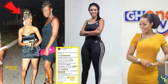 Serwaa Amihere's throwback picture causes frenzy online