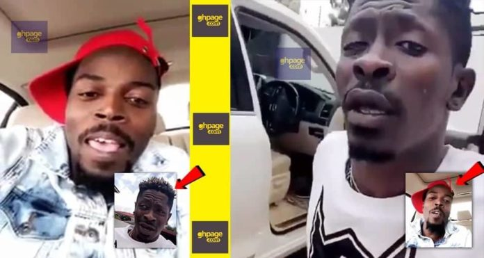 Shatta Wale and Kwaw Kese throw jabs at each other on live snap