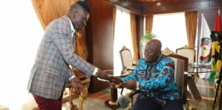 "Shatta Wale plans to release song for Akuffo Addo titled ""Nana Paper"""