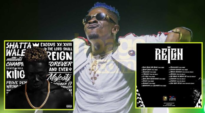 Shatta Wale finally unveils cover art and track list for