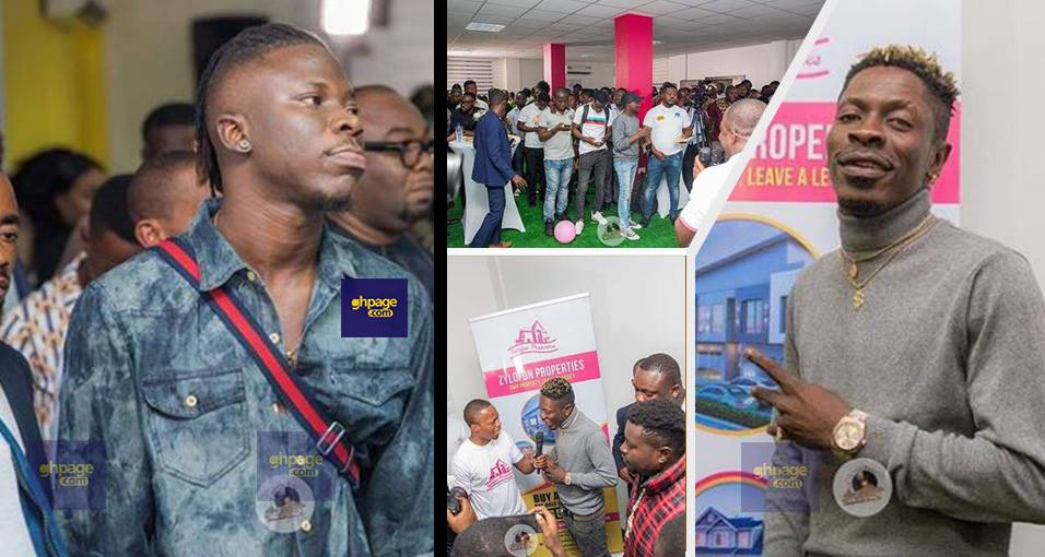 Shatta Wale and Stonebwoy clash in one room at Zylofon premises