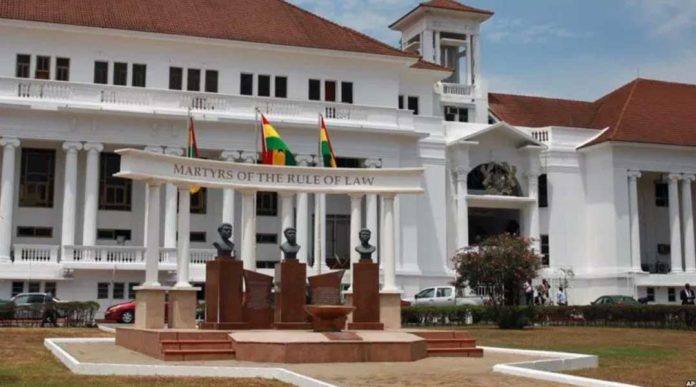 A look at the inside of Ghana's posh looking Supreme Court