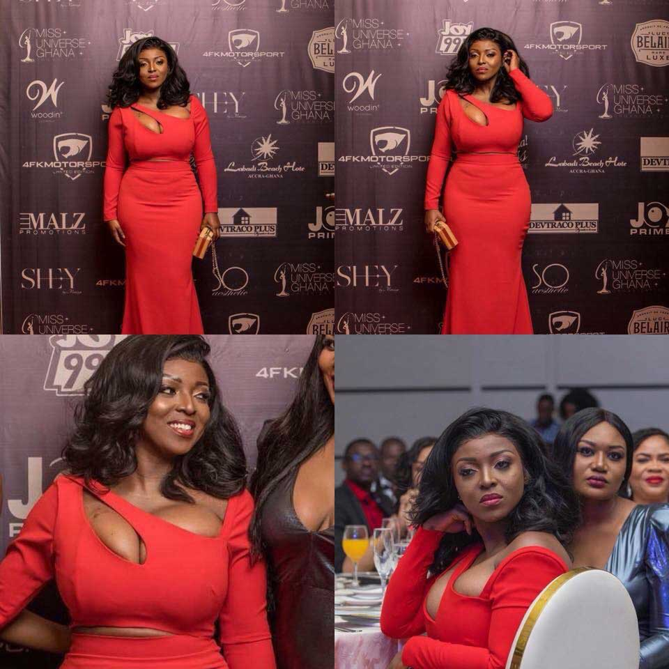 My Watermelons Wanted To Enjoy Free Air So I Freed Them-Yvonne Okoro Finally Speaks On Her Red Dress