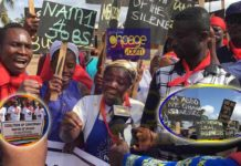 Concerned Youth of Ghana demonstrates against Menzgold shutdown