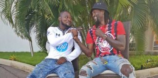 Adebayor gift Funny Face blank cheque, Shopping voucher and more