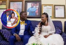 Beautiful moments from UTV's Afia Akyere's wedding ceremony