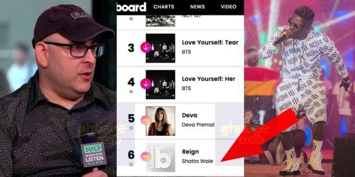 Billboard explains how Shatta Wale's 'Reign' album clocked No.6 on the Billboard World Album Charts