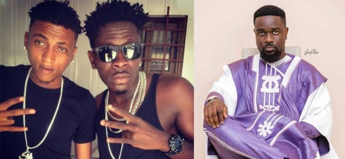 Ara-B mocks Shatta Wale over Sarkodie's diss song
