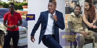 Asamoah Gyan shares money to hawkers on the streets of Accra