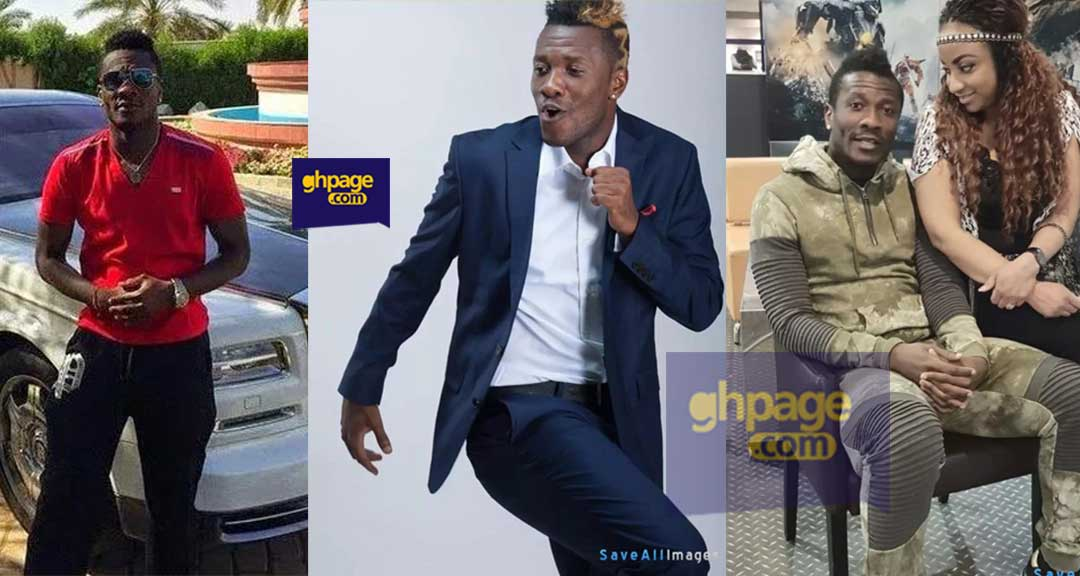 Asamoah Gyan files his bank statement to the court