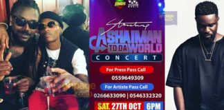 Check out the Full List of artists who are set to perform at the Ashaiman To The World Concert