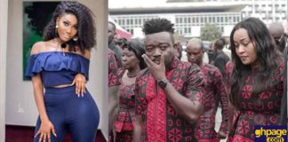 Bullet's girlfriend breaks silence after catching him and Wendy Shay in bed