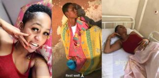 Last video of sick Charlotte Abena Woodey before her death