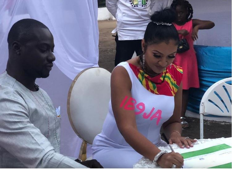 More photos and video from Chris Attoh's wedding with Betty Jennifer