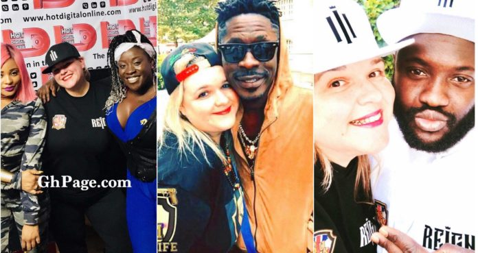 DJ Laura from the UK professes her undying love for Shatta Wale