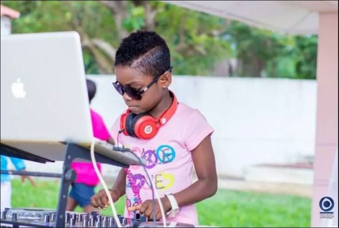 DJ Switch records a loving 'thank you message' for Ghana and the world