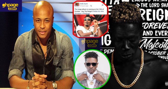 Football star Dede Ayew 'endorses' Shatta Wale's reign album