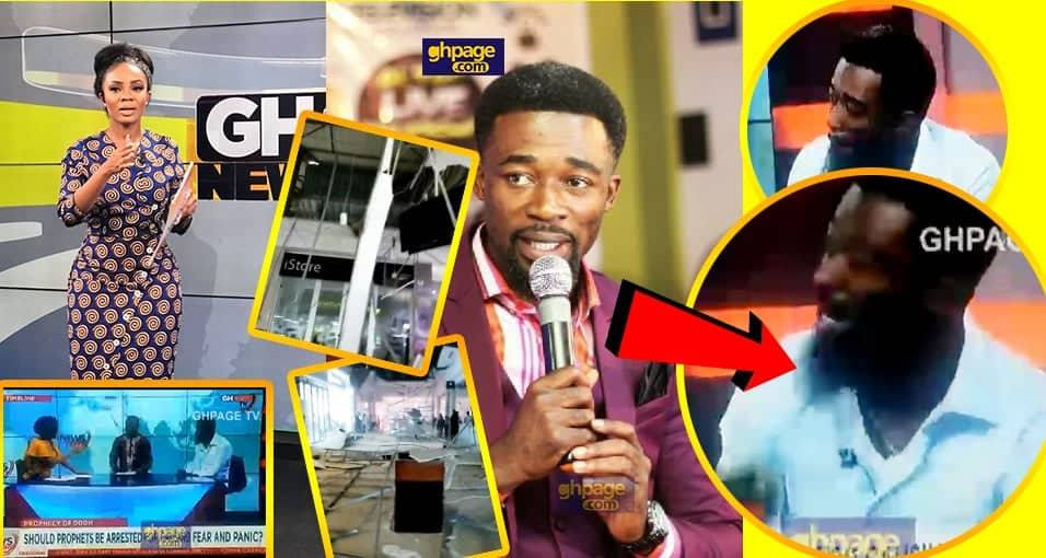 Accra Mall Incident: what Eagle Prophet said before on GhOne Tv