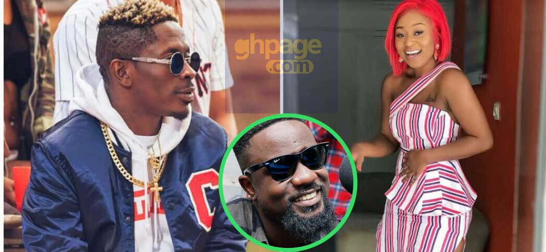 Image result for Efia Odo bigups Sarkodie over his Shatta Wale diss song