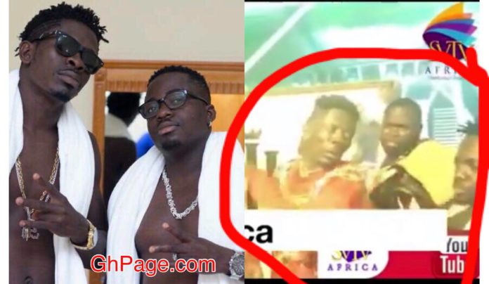 Shatta Wale slaps his brother Flossy Blade